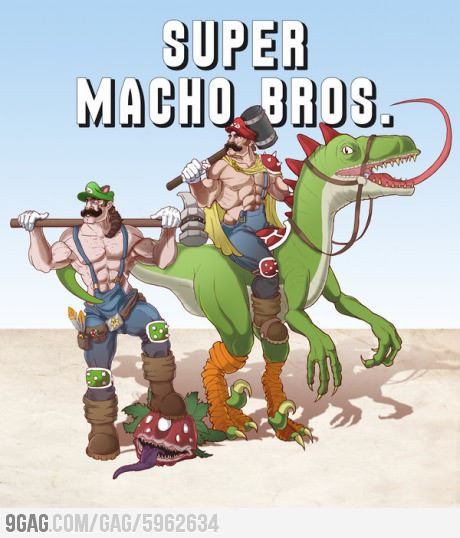 Super Macho Bros